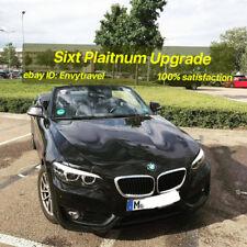 Sixt Plaitnum Status Upgrade——Instant Direct Upgrade