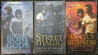 CAITLIN KITTREDGE ~ BLACK LONDON URBAN FANTASY PARANORMAL PB 3 BOOK LOT FREE SHP