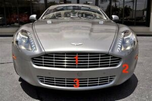 Aston Martin Rapide Front Bumper + Grilles 2010-2013 (3 piece assembly)