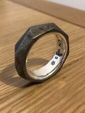 David Yurman 925 Meteorite Ring - Designer