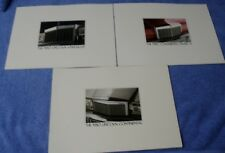 3 original 1980 Lincoln Continental Versailles Mark VI dealer brochures