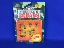Galoob 1997 Battle Squads Combat Platoon #1 Soldiers Still New Unopened Pack