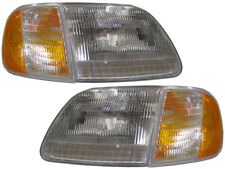 Set Of Factory Style Headlights Fits 97 03 Ford F 150 Built After 97 Fits 1997 Ford F 150