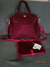 Tory Burch Travel Nylon Baby Bag, Color Cabernet, Style 31389