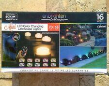 🌟🎈 Enbrighten Landscapes Path Lights 36 Mini Lights 70ft LED Color Changing 🌟
