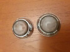 PAIR OF USED LUCAS L489 RIM AND LENSES  LAND ROVER MORRIS MINOR