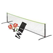 Zume Games Od0014W Pickelball Set Paddles, Net, Balls - Portable Quick Set Up