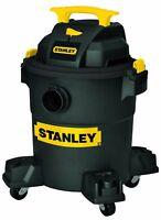 Stanley Vac SL18116P 6 Gal Poly Wet Dry Vac Blk