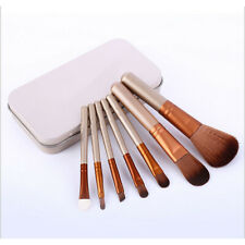 7pcs Makeup Brush Cosmetic Brush Set With Case for Travel FD8