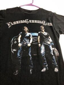 Florida Georgia Line 2013 Country Music Tour Adult Short Sleeve T Shirt Medium M