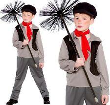 enfants garçons PAUVRE victorien RAMONEUR Costume Déguisement ENFANTS COSTUME W
