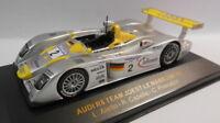 Ixo 1/43 Scale - LMM002 AUDI R8 TEAM JOEST LE MANS 2001 #2