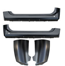 07-13 Chevy Silverado GMC Sierra STANDARD CAB 2DR Rocker Panel & Cab Corners KIT