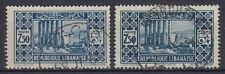Liban Lebanon 1930 Mi.180 I+II fine used, 2 types Jupitertempel Baalbek [sq7772]