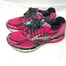 Brooks Women's Adrenaline GTS 14 Running Shoes Pink size 9