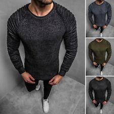 Suéter Sweater chaqueta de punto jersey de punto señores sudadera ozonee 2028 Mix