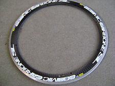 One(1)used Mavic 16-spoke Cosmic Carbone SL clincher rim Made in France
