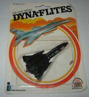 VTG 1982 Zee Toys Dyna-Flites SR-71 Blackbird Stealth Air Force Jet Plane Intex