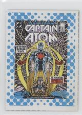 1987 DC Comics Backing Board Cards #39 Great Moments in Captain Atom Card 1n4