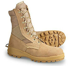 NEW WELLCO USGI Military Army Sand Desert Hot Weather US Made V-Trax Boots 8 W