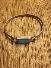 sterling silver bracelet-turquoise- 925