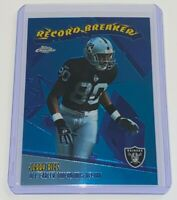 2003 Topps Chrome Record Breakers Jerry Rice #RB12 NFL Oakland Raiders Football
