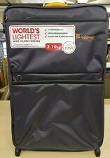 IT Luggage World's Lightest Suitcase Dark Shadow Medium 69cm New