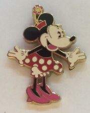 New listing Disney Minnie Mouse in red polka dot skirt pin