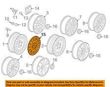 VW VOLKSWAGEN OEM 06-07 Passat Wheels-Wheel Cover 3C0601147DSMC