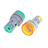 AC 220V 0-100A Digital Ammeter 22mm Display Monitor Current Measuring Meter T FJ