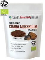 Organic Chaga Mushroom Powder (Perfect For Chaga Tea - Mushroom of Immortality)