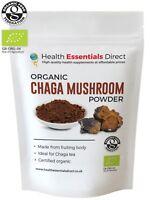Organic Chaga Mushroom Powder (Chaga Tea, Mushroom of Immortality)