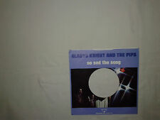 Gladys Knight And The Pips ‎– So Sad The Song-Copertina Forata Per Disco Vinile
