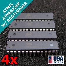 4x NEW ATmega328P-PU IC Chip w/ Arduino UNO BOOTLOADER USA 4pcs T37