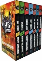 Robert Muchamore Hendersons Boys 7 Books Collection Box Set Pack