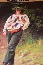 Jo Sharp Knitting Pattern Primitive Bird Woman's Sweater