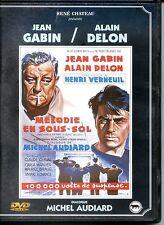 DVD - MELODIE EN SOUS-SOL - Gabin - Delon - Verneuil - Audiard - René Chateau