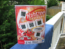 Hasbro Electronic Yahtzee Flash~ Four Fast Action Games~ New & Factory Sealed!