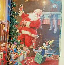 Ideals Christmas Magazine 1983 Winter Holiday Hinke Rockwell Poem Illustrations