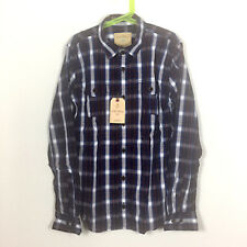 NWT Rose Pistol Boys Long Sleeve Button Front Shirt Size L