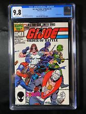 G.I. Joe Order of Battle #3 CGC 9.8 (1987) - wraparound cover