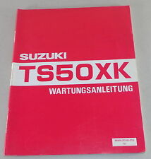 Werkstatthandbuch Suzuki TS50XK Stand 03/1991