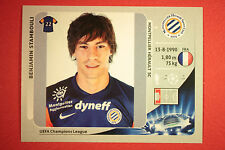 PANINI CHAMPIONS LEAGUE 2012/13 N. 142 STAMBOULI MONTPELLIER BLACK MINT!