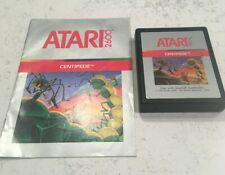 Atari 2600 Centipede with Manual - Tested & Working