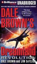 DREAMLAND REVOLUTION unabridged audio book on CD by DALE BROWN - Brand New!