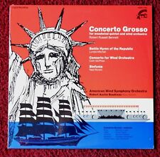 AMERICAN WIND SYMPHONY ORCHESTRA CONCERTO GROSSO SEALED RECORD ALBUM