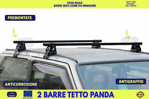Fiat Panda Van Barre portatutto portapacchi da tetto bagagli barra kit bagagli