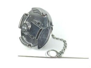 MVP Aluminum Fuel Cap Non-Locking Lever Style for Peterbilt Repl. 11-04589-100
