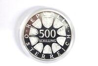500 Schilling Österreich 1986 KSZE Konferenz für Sicherheit und Zusammenarbeit i