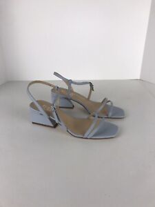 franco sarto heels 6.5m Womens Buckle Blue